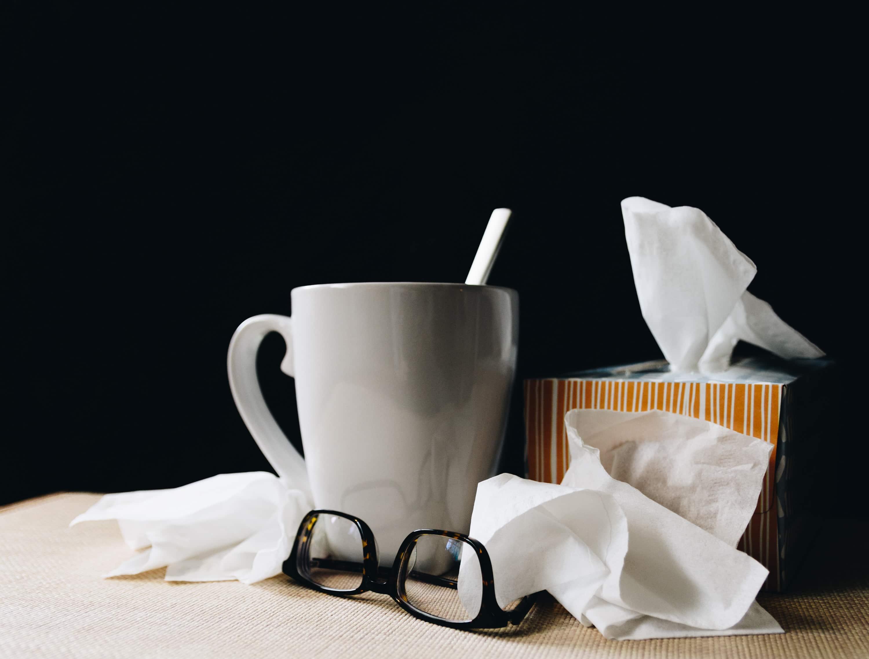 Ziek koorts meten